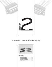 Série DS contact estampé