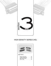 Série haute densité HD