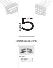 Série hermétique EPC